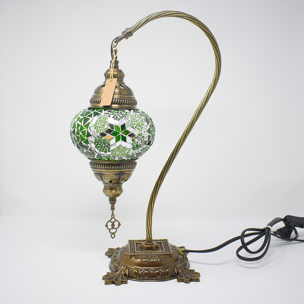 Turkish mosaic table lamp green vazo market turkish home deor shoplightingturkish mosaic table lamp green previous next aloadofball Images